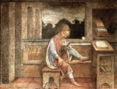 Vincenzo Foppa's The Young Cicero Reading